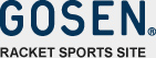 GOSEN RACKET SPORTS SITE